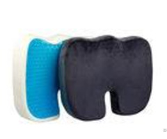 Gel Coccyx Orthopedic Memory Foam Seat Cushion Customized Dimensions