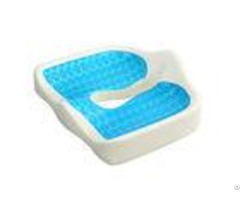 Orthopedic Gel Memory Foam Seat Cushion Relieve Coccyx Pain For Wheelchair