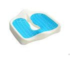 Therapy Coccyx Gel Memory Foam Seat Cushion For Car Office Home And Travel