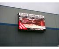 Double Sided P5 Outdoor Advertising Led Display High Flatness For Supermarket