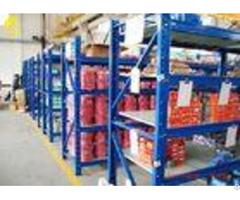 P Type Beams Storage Racking Systems Anti Corrosion Medium Duty Warehouse Shelving