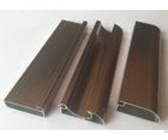 Anti Rust Aluminum Cabinet Door Extrusion Frame Extrusions Coffee Color