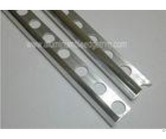 Silver Aluminium Internal Corner Tile Trim Profile Home Decoration For Bathroom