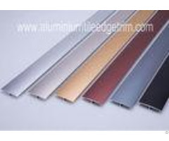 Eco Friendly Aluminum Floor Transition Profiles Anodized Color At Doorway Threshold