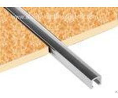 10mm Chrome Listello Tile Trim Aluminium U Shaped Barlistello Border