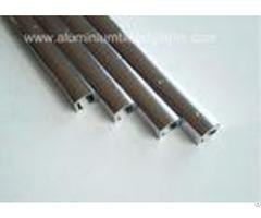 Narrow Aluminium Channel Profiles Finishing Edge Anodized Polished Silver Effect