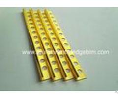 10mm Round Edge External Corner Tile Trimbright Polished Golden Effect