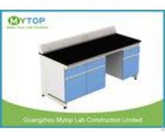 University Laboratory Furniture With Black Granite Worktop Adjustable Height