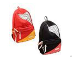 Fashionable Large Durable Backpack For High School Students Red Black Yellow