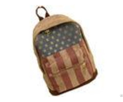 Printed Chamois Leather Kids Sports Backpack Travelling Backpacks For Girls