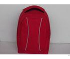 Casual Red 600d Polyester Backpack Unique Backpacks For College 30l Capacity