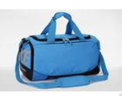 Mens Travel Duffel Bag Oem Nylon Ripstop Blue Sports Bags Lightweight