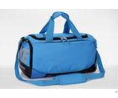 Mens Travel Duffel Bag Oem Nylon Ripstop Blue Sports Bags Lightweight