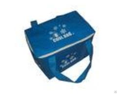 Dark Blue Lunch Box Insulated Cooler Bags For Men 2mm Aluminium Epe Inside