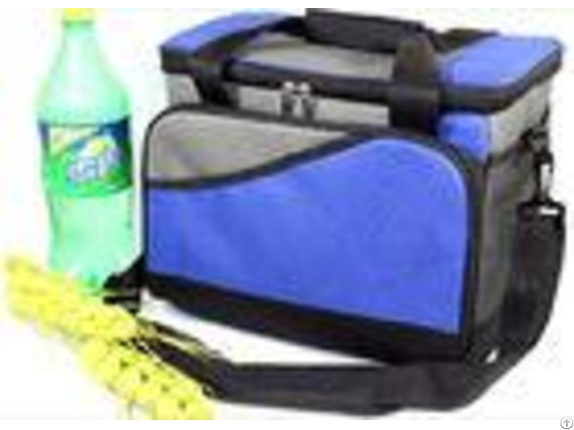 Outdoor Polyester Fitness Travel Insulated Lunch Cooler Bag For Adults