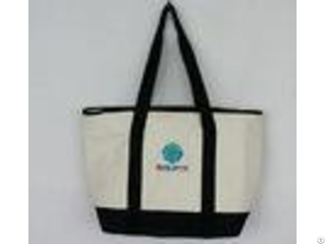 Reusable Food Cooler Bag Eco Friendly Outdoor Tote Embroidery Beach
