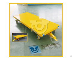 Industrial Use Non Power Plant Trailer Running On Cement Floor