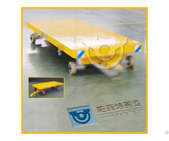 8t Material Handling Industrial Trailer For Moving Goods