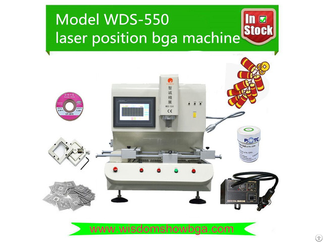 Low Cost Laptop Repair Machine Infrared Bga Rework Station Wds 550