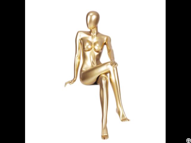 Golden Color Store Display Mannequin