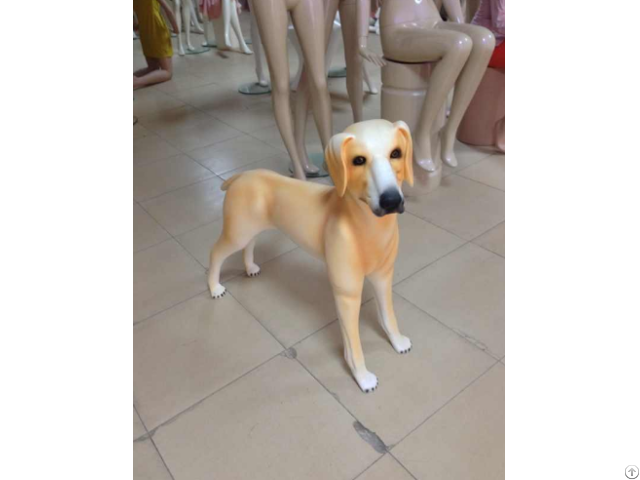 Fashion Fiberglass Display Dog Mannequin