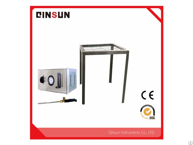 Bedding Flammability Tester