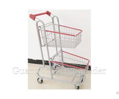 Two Basket Shopping Cart