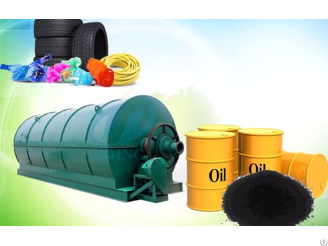Tire To Oil Pyrolysis Plant