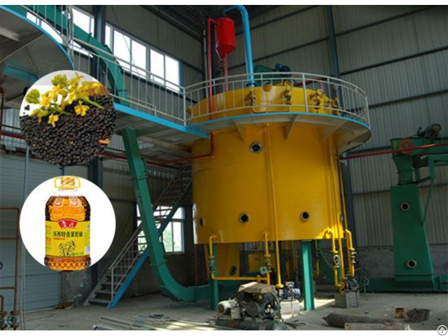 Mustard Oil Solvent Extraction Plant