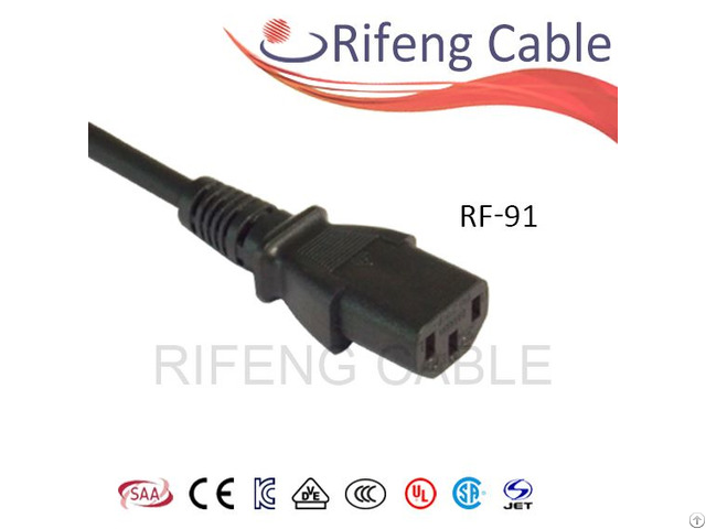 National Standard 3 Pin Connector Rf 91