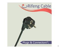 Vde Powercord Europe Plug Schuko