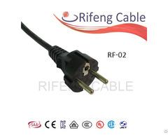 Rf 02 Europe Plug Powercord Schuko