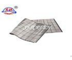 Oil Filter Element Composite Shaker Screen Without Steel Backing Plate