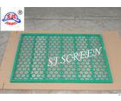 Ss304 Ss316 Material Fsi Shaker Screen With High Strength Steel Frame