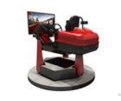 Metal Material Virtual Reality Racing Car 3 Screens 6d Dynamic System Motion