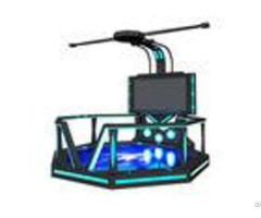 Commercial 9d Virtual Reality Game Simulator With 360 Rotating Platform