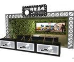 Attractive 9d Virtual Reality Shooting Games 360 Degree View For Amusement Game