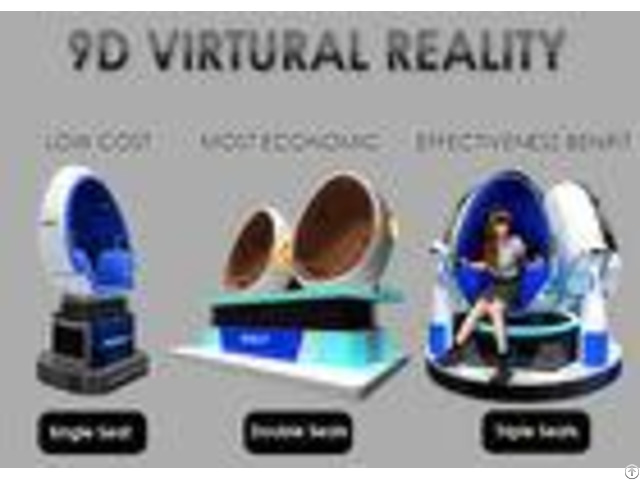 Fashion Investment 9d Vr Cinema 1 2 3 Seats Color Customized For Adult