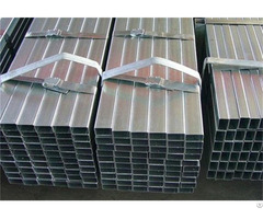 Pre Galvanized Steel Rectangular Pipes