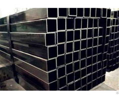 Black Square Steel Pipes