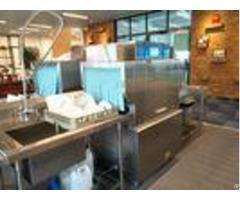 Dispenser Inside Door Type Dishwasher Commercial Dishwashing Equipment
