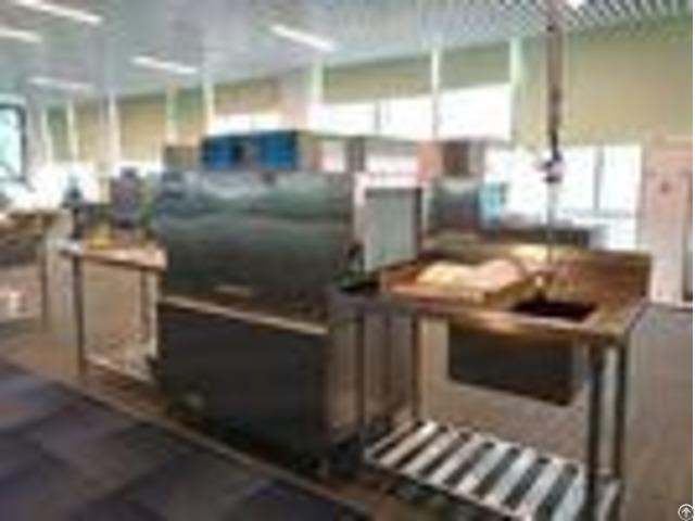 Hotel Dishwasher Commercial Dishwashing Machine Eco M110p Dispenser Inside