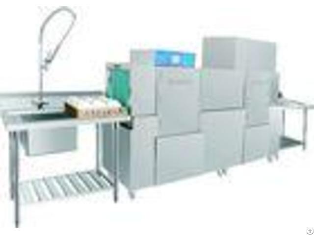 Stationary Rack Dishwasher 1900h 2600w 750d Dispenser Inside For Staff Canteens