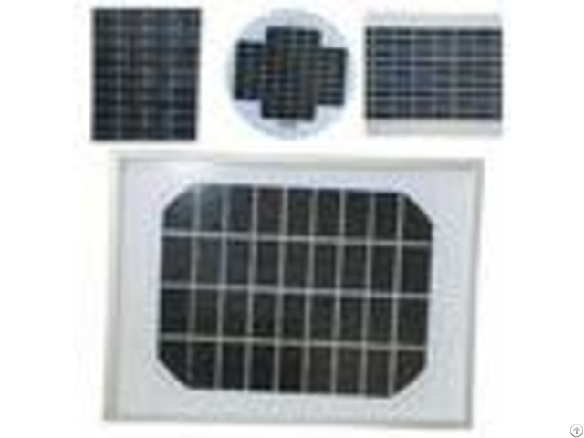 Mini Size Mono Silicon Solar Panels18v Pv Cells With High Transmittance Glass