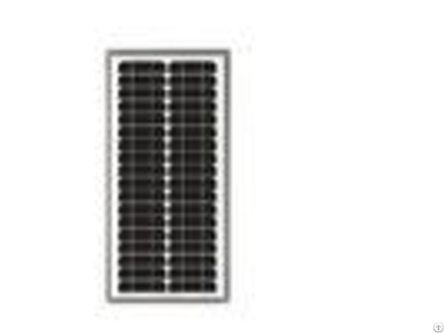House Solar Panels Monocrystalline17 5v Power Voltage Weathering Resistance Tpt