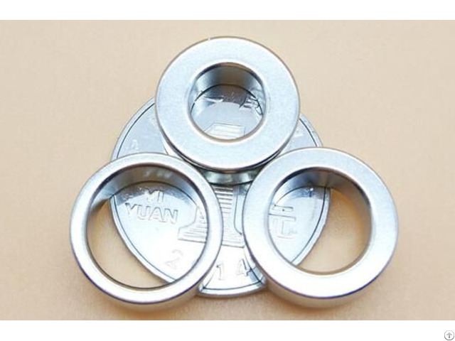 Ring Round Neodymium Permanent Magnets With Hole