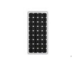 Aluminum 80w Mono Crystal Solar Panel 21 6v Circuit Voltage Low Iron Glass