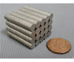 Samarium Cobalt Magnet Disc Dia5 6x3 Mm Cylinder Ni Coating Permanent Rare Earth Magnets