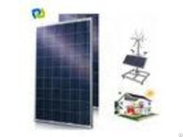 Industrial Multi Crystalline Solar Panelroof Tiles 2% Module Efficiency Iec