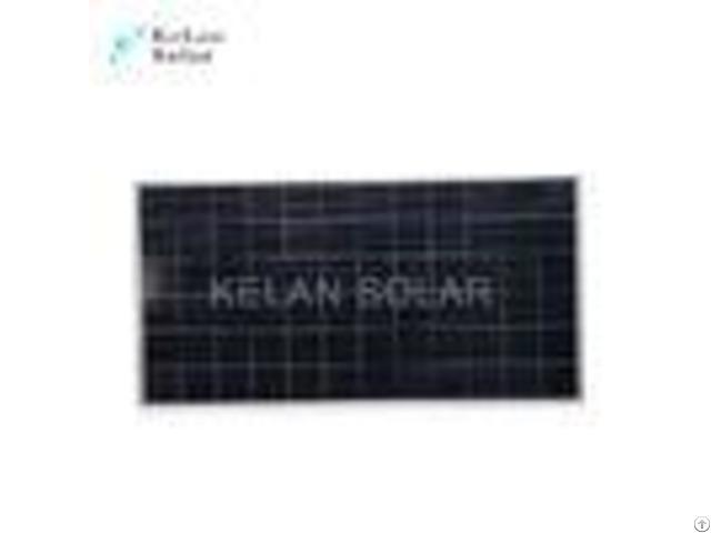 Roof 305w Polycrystalline Solar Panel 3% Output Power Tolerance Black Frames